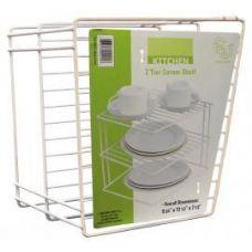 "18 Units of 2 Tier Corner Shelf - 9.75"" x 3.5"" x 7.5"" - Kitchen Gadgets & Tools"