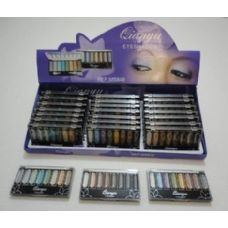 144 Units of 8 Color Sparkle Eye Shadow - Eye Shadow