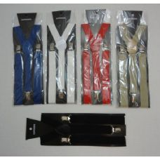72 Units of Adjustable Y-Back Suspenders - Wholesale Apparel Accessories