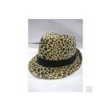 72 Units of Animal Print Fedora Hat - Fedoras, Driver Caps & Visor