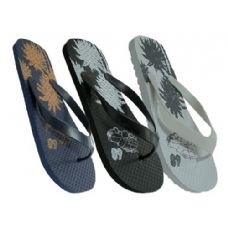 48 Units of Mens Floral Flip Flop - Men's Flip Flops & Sandals
