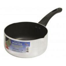 12 Units of 1 Qt Aluminum Lip Sauce Pan - Pots & Pans