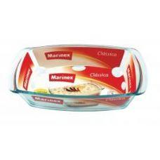 12 Units of Marinex 1.5L /1.6 Qt. Rectangular Glass Loaf Dish - Glassware
