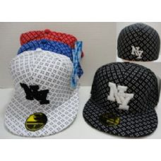 144 Units of Fitted NY Hat [Crosshairs]