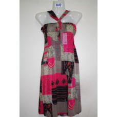 72 Units of Ladies Printed Summer Dress - Womens Sundresses & Fashion