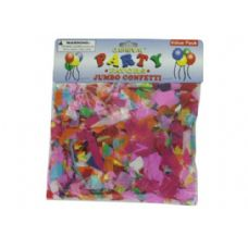 72 Units of Jumbo paper confetti - Streamers & Confetti