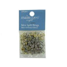 144 Units of Mini Split Rings - Craft Tools