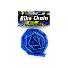 72 Units of Rubber coated bike chain - Biking