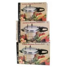 6 Units of 4.5 Quart Aluminum Pressure Cooker - Kitchen Gadgets & Tools