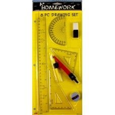 96 Units of Math Set 4 pcs - Rulers