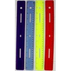"288 Units of Flex Ruler 12"" Asst Colors- Boxed - Rulers"