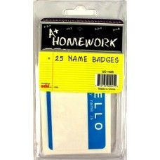 "48 Units of Name Badge Labels - 3.5"" x 2.50"" - 25 pack - Labels ,Cards and Index Cards"