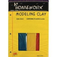 24 Units of Modeling Clay - 4 pack - 1# total - Asst. Colors