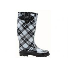 12 Units of Ladies' Rubber Rain Boots