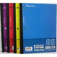 "24 Units of Wireless Notebook - 80 sh - 10.5"" x 8"" - CR - Notebooks"
