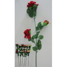 """144 Units of 29"""" 3 Head Roses - Artificial Flowers"""