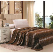 16 Units of Leopard Print Micro Plush Blanket QUEEN SIZE - Fleece & Sherpa Blankets