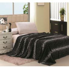 16 Units of Leopard Print Micro Plush Blanket TWIN SIZE - Fleece & Sherpa Blankets