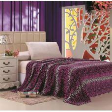 16 Units of Pink Leopard Print Micro Plush Blanket TWIN SIZE - Fleece & Sherpa Blankets