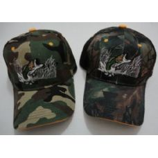 72 Units of Camo Fish Hat - Hunting Caps