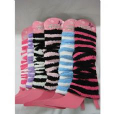 120 Units of Fuzzy Leg Warmer - Arm / Leg Warmers