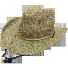 48 Units of COW BOY STRAW HATS - Cowboy & Boonie Hat