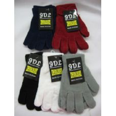 240 Units of Unisex Acrylic Glove For Kids - Junior Kids Winter Wear