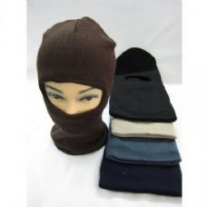 72 Units of Winter Ski Mask Mixed Colors - Face Ski Masks Unisex