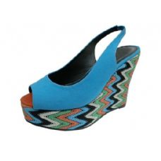 "13 Units of Ladies 4.5"" Open Toe Wedge - Women's Heels & Wedges"