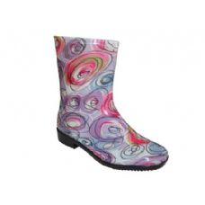 24 Units of Lady Mid Fusion Rainboot - Womens Boots