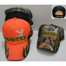 144 Units of HUNTER-OUTDOOR SPORTS Camo Hat - Hunting Caps