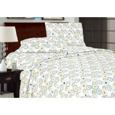 12 Units of Printed Microfiber Sheet Set Queen Size - Sheet Sets