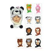 50 Units of Short Animal Hat Heavy - Winter Animal Hats