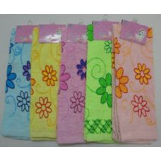 72 Units of Printed Hand Towel-Floral - Towels