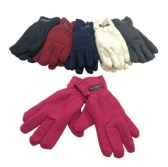 12 Units of Ladies Thermal Insulate Gloves - Winter Gloves