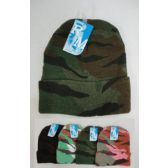 144 Units of Camo Toboggan Winter Hat