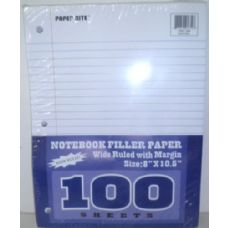 48 Units of 100 Pack Binderpaper - Paper