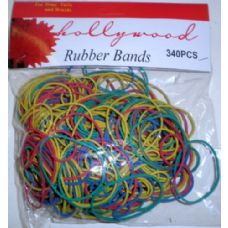 72 Units of 340 Pack Assorted Rubber Bands - Rubber Bands