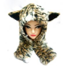 48 Units of Animal Winter Hat - Winter Animal Hats