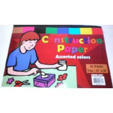 48 Units of Colored Construction Paper - Paper