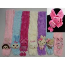 48 Units of Kids Super Soft Scarf - Winter Scarves
