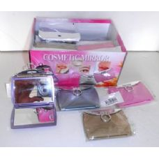 72 Units of Cosmetic Purse Mirrors - Mirrors