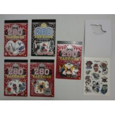 48 Units of 280pc Temporary Tattoo--Book - Tattoos and Stickers
