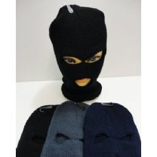 144 Units of Ski Mask Solid Color - Face Ski Masks Unisex