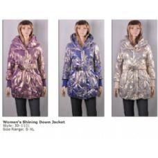 12 Units of Women's Down Jacket Shining Fashion - Woman's Winter Jackets