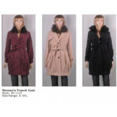 12 Units of Ladies Trench Coat - Woman's Winter Jackets