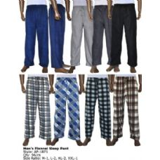 96 Units of Mens Lounge Fleece Lounge Pants