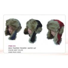 72 Units of Trapper Trooper Hat With faux Fur - Trapper Hats