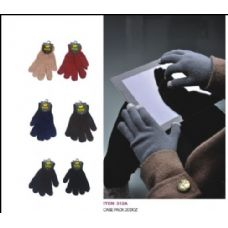 240 Units of Assorted Colors Texting Glove - Conductive Texting Gloves