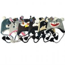 36 Units of Animal Knit Hat - Winter Animal Hats